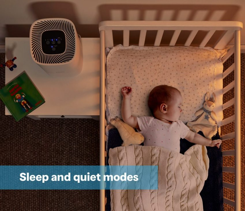 DXBRVAP4-Dimplex-Brava-4-Air-Purifier-roomset-nursery-with-baby-and-graphics-RGB-Feb-2021